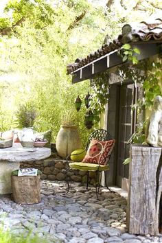 Outdoor Rooms, Outdoor Gardens, Outdoor Living, Outdoor Decor, Wood Gardens, Outdoor Fun, Garden Design, House Design, Patio Design