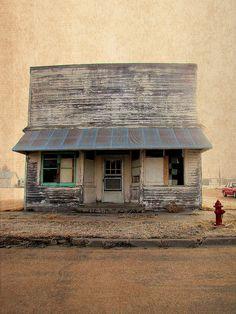 Old Storefront, McDonald, Kansas