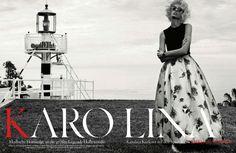 Karolina Kurkova – Vogue Germany April 2013 Issue
