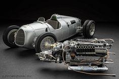 Más tamaños | Auto Union Type C hillclimb 1936 | Flickr: ¡Intercambio de fotos!