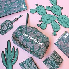Well, ok this isn't alllll stationery, but those cactus diaries? We had to pin-clude them! Love this cacti print!