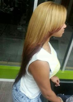 Ombre Weave Blonde Highlights Length Long Hair I love this hair