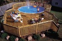 How to Build a Deck Around an Above Ground Pool | eHow