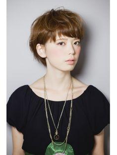 #japanese #hairstyle #bangs #short #summer