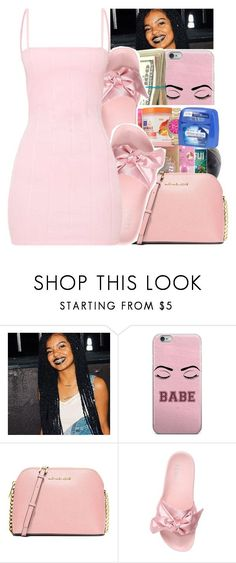 """Untitled #345"" by glowithbria ❤ liked on Polyvore featuring MICHAEL Michael Kors and Puma"