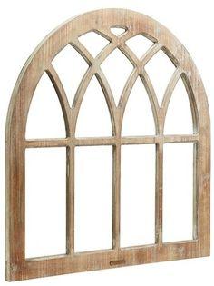 Magnolia Home Window Frame Wall Decor - Brown