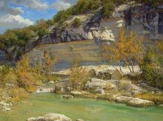 The Frio by Mark Haworth Oil ~ 36 x 48