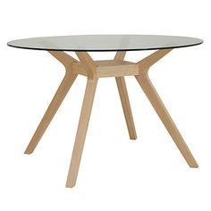 Buy John Lewis Akemi Round 4 Seater Dining Table Online at johnlewis.com