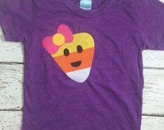 candy corn shirt, hipster Halloween, Halloween shirt, pumpkin tee, girl's Halloween tee, baby, toddler, kid's Halloween shirt