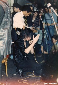 Nick Cave Athens 1984