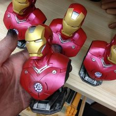 Iron Man printed by david_warboss #prusasl1 #toysandgames