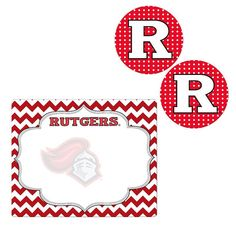 Rutgers Scarlet Knights 3-Piece Trends Package, Multicolor
