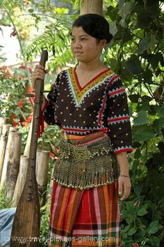 Philippines - Tboli or T'bolis, one of the indigenous people of South Mindanao