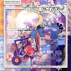 Indigo Sunset Part 2 :: Store Collaborations :: Memory Scraps