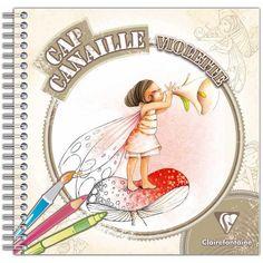 Книжка-раскраска Грязные Cape Фиолетовый Фея - 80 страниц - фотография # 1