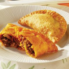 beef empanadas..I love empanadas, I just hate making them. Without a deep fryer it's a messy task. :/
