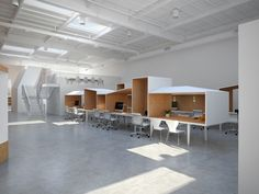 edward ogosta architecture: hybrid office. working inside the box!