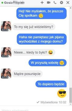 Demotywatory.pl Funny Chat, Funny Sms, Funny Text Messages, Wtf Funny, Funny Texts, Love Memes, Best Memes, Funny Conversations, Everything And Nothing