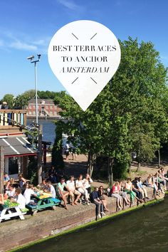 """During summer it's lovely to float your boat through the canals of Amsterdam, but once in a while you have to make a stop and eat. That's why we listed our favourite terraces to anchor in Amsterdam on http://www.yourlittleblackbook.me/best-terraces-to-anchor-in-amsterdam/ for you! Planning a trip to Amsterdam? Check http://www.yourlittleblackbook.me/ & download """"The Amsterdam City Guide app"""" for Android & iOs with over 550 hotspots…"""