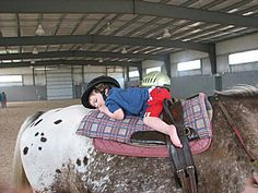 Hippotherapy: Occupational therapy through the use of horses    <3 LOVE! <3