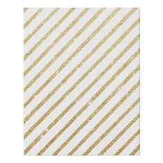 modern girly simple gold glitter geometric stripes faux canvas print - stylish gifts unique cool diy customize