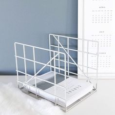 Keep your magazines neatly organized in this decorative Square holder. Might also come in handy for keeping your work desk clean from paper piles.  Our Square magazine holders are made of thin metal wires bent in a nice graphic pattern that ensures the sturdiness. They all have a powder coating and come in several colours #fermliving #square #magazineholder #powdercoated #metal #danishdesign #cereal #regram @andreagravningen