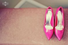 Pink Bridal Shoes ~    Toronto Wedding Photographer  www.bassem.ca
