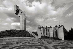 Memorial Complex the Defenders of Stara Zagora. Stara Zagora, Bulgaria. 1977
