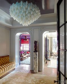 Inspired by a renowned London cocktail bar, a couple asks Steven Gambrel to conjure an aura of old-world glamour in Manhattan