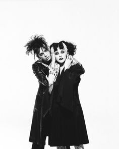 Matty Healy and Heather Baron Gracie photographed for NME