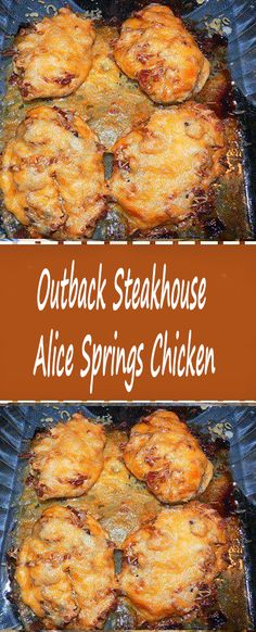 Outback Steakhouse Alice Springs Chicken – Food for Healty Herb Roasted Chicken, Honey Garlic Chicken, Easy Chicken Wing Recipes, Easy Recipes, Keto Recipes, Chicken Mozzarella Pasta, Pollo Chicken, Keto Chicken, Chicken Bacon