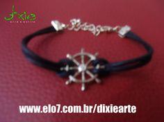 Pulseira Navy    www.elo7.com.br/dixiearte