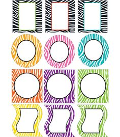 The edgy, contemporary Wild Style design adds fun and and energy to any classroom! The Wild Style Cut-Outs can be used for more than decoration! Use them for game pieces, to brighten up cubbies, fun name tags, reward cards and much more!  This 36 piece pack includes an assortment of designs printed on card-stock.  Look for coordinating products in this design to create a bold classroom theme your students will love!