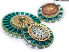recycled electronics jewellery - Google Search