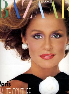 Lauren Hutton.  Harper's Bazaar France, Sept 1984.