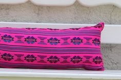 Multi colored PINK pillow sham Ready to ship.