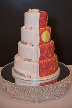 Image result for the flash compromise wedding cake