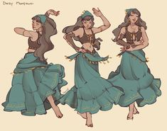 ArtStation - Daisy Moonflower, Veerle Zandstra Fantasy Character Design, Character Drawing, Character Design Inspiration, Character Concept Art, Character Types, Character Ideas, Dungeons And Dragons Characters, Dnd Characters, Illustration Design Graphique