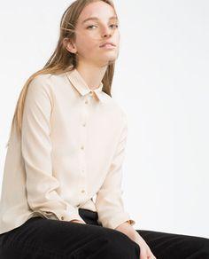 изображение 3 из РУБАШКА С ДЛИННЫМИ РУКАВАМИ от Zara