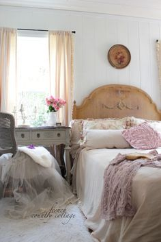 French Country Cottage Guest Bedroom Style