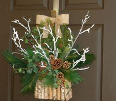 Новый год на Sees-All-Colors: Украшения на дверь Aniamelisa