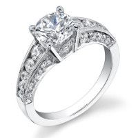 Attention Grabbing Tension Set Basket Mounting with Floating Diamond and Smooth Stylish Prongs – 5 Carat Diamond Ring, Marquise Diamond, Diamond Rings, Engagement Sets, Vintage Engagement Rings, Diamond Engagement Rings, Diamond Shapes, Beautiful Rings, Round Diamonds