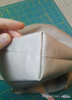 How to Make Boxed Cushions.