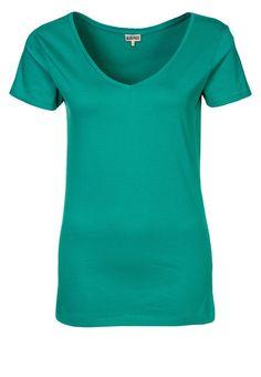 Camiseta básica - KIOMI Zalando ❥ Verde esmeralda
