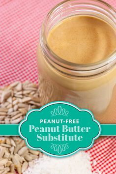 A good peanut-free peanut butter substitute is hard to find. This sunflower coconut butter is the closest I've made in taste and texture to honest-to-goodness peanut butter. Nut-Free Peanut Butter-Like… Peanut Free Peanut Butter, Peanut Butter Substitute, Peanut Allergy, Dairy Free Eggs, Egg Free, Mousse, Allergy Free Recipes, Dairy Recipes, Food Allergies