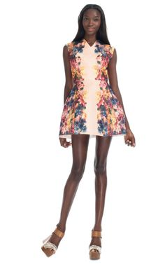 Manning Cartell Bed of Begonias Tulip Dress via Moda Operandi