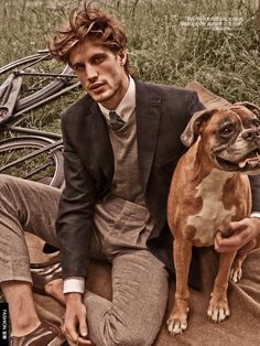 Fashion editor Grant Pearce brushes up on classic fall essentials for a charming editorial featured in the August 2015 issue of GQ China. Pearce links up with photographer Giampaolo Sgura for a country outing. Sporting tweeds and tailored separates from the likes of Gucci, models Mariano Ontañon, Santiago Ferrari and Stephan Haurholm bring a relaxed...[ReadMore]