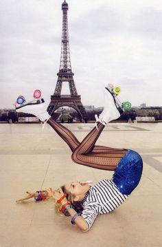Paris rollergirl