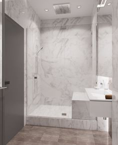 Квартира_Ди 76 м2 Дизайн: Волкова Арина, on Behance Architectural Design House Plans, Interior And Exterior, Interior Design, New Homes, Bathtub, Loft, House Design, Bathroom, Architecture