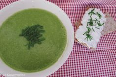 Crèmige Brokkolisuppe / creamy broccoli soup